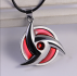 Carton Naruto Pattern Red/Silver Color Unisex Fashion jewellery
